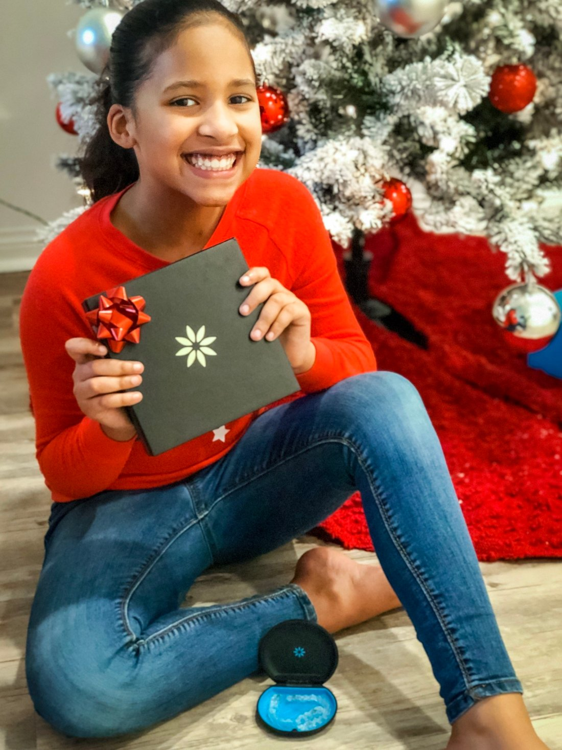 Give your child the gift of a perfect smile this Holiday season with Invisalign clear aligners.