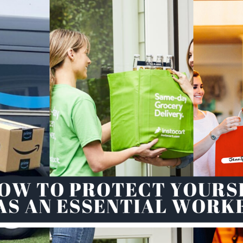Essential workers aren't able to shelter in place like the rest of us, which means they're out there in the thick of it. These tips will help essential workers or those seeking essential supplies reduce the chance of bringing coronavirus into the home.