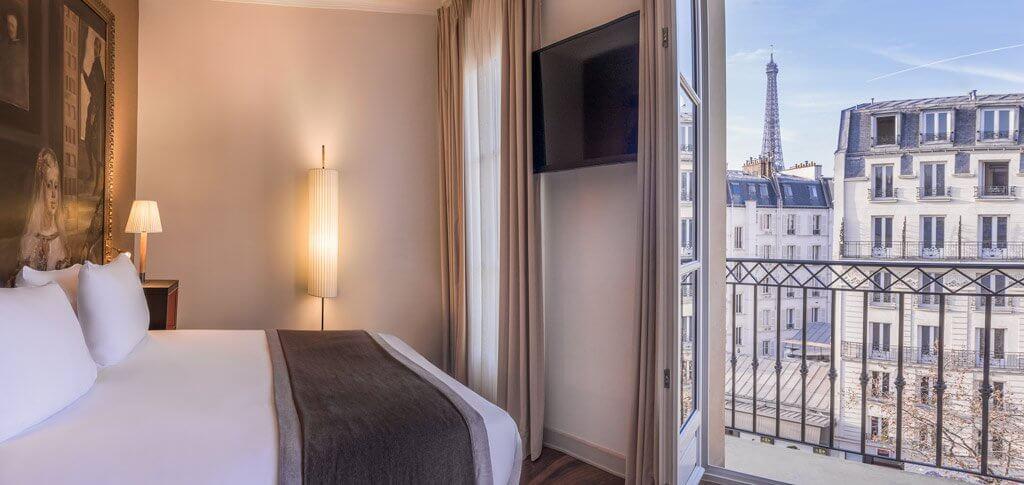 Best Paris Hotels With Eiffel Tower View World In Paris