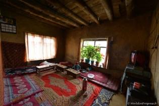 Habitat du Zanskar - Pièce de vie