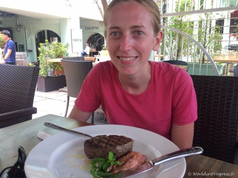 Enfin un bon steak !