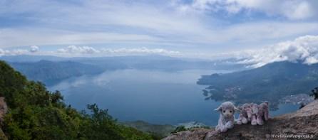 Lac Atitlan du San Pedro Volcano