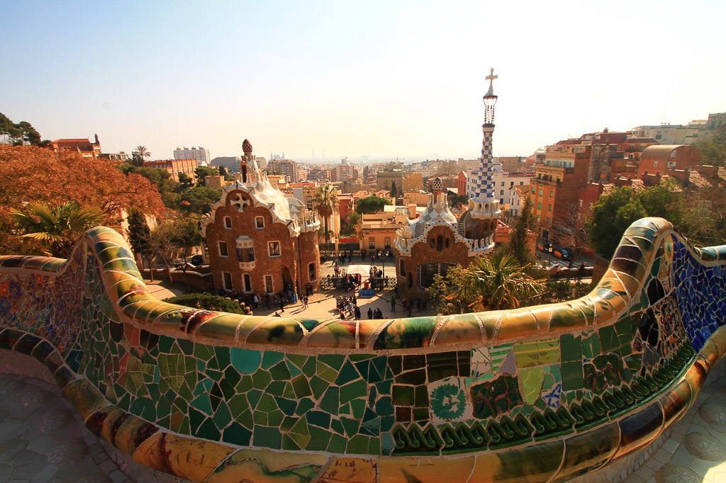 Barcelona itinerary, weekend trip, city break