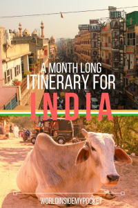 india itinerary, asia, guide