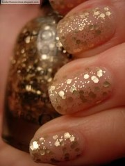 beautiful examples of gold glitter