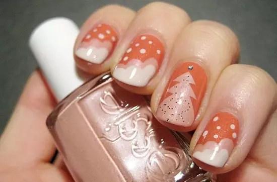 Best Easy Simple Christmas Nail Art Designs Ideas 27