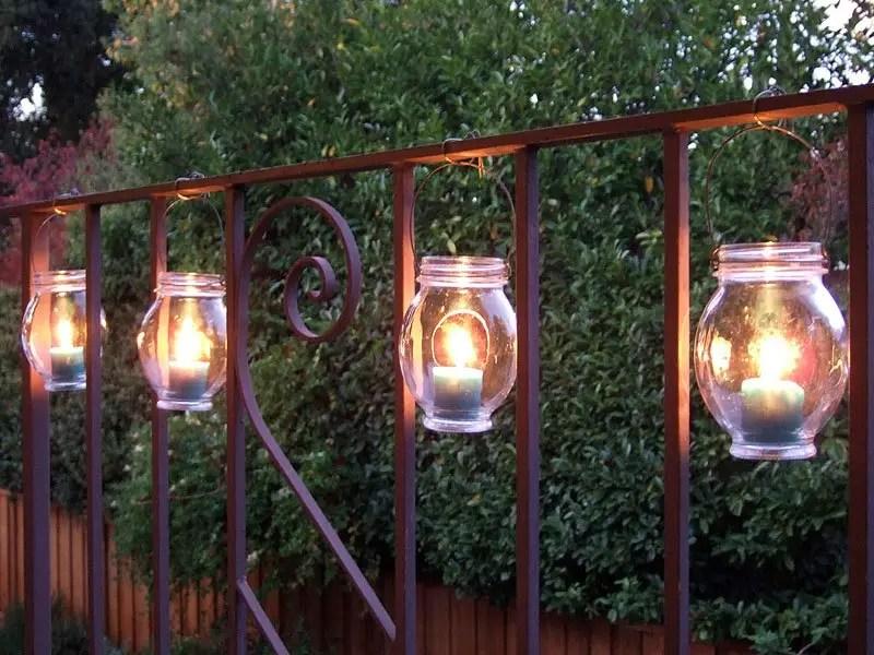 20 Inspiring Outdoor Lighting DIY Ideas World Inside