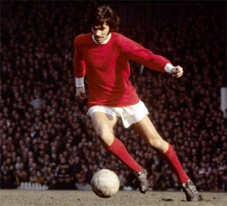 George Best Showing His Silky Skills For Manchester United