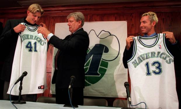 Steve Nash, With Dirk Nowitzki And Don Nelson, Helped Turn The Mavericks Around During His Six Years In Dallas. Owner Mark Cuban Mistakenly Thought Nash'S Best Days Were Behind Him.