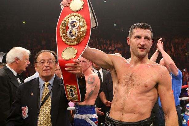 Ibf Orders Carl Froch To Face James Degale