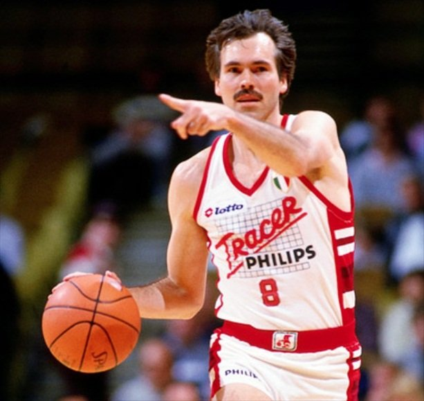 Mike D'Antoni Had A Fourteen Year Career In Italy, Playing For Olimpia Milano. He Set Numerous Records And His Coaching Style Reflected The European Style Of Play He Was Accustomed To.