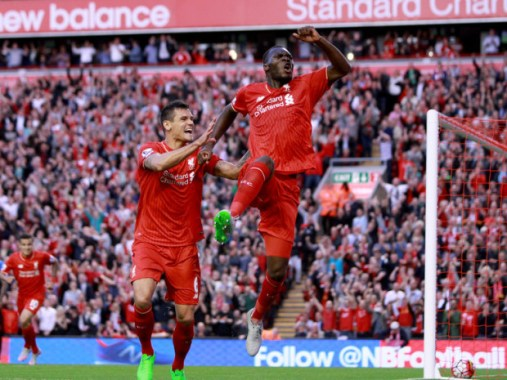 Christian Benteke Liverpool Celebrates 3339000 E1447081043494
