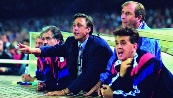 Johan Cruyff As Coach Of Barcelona