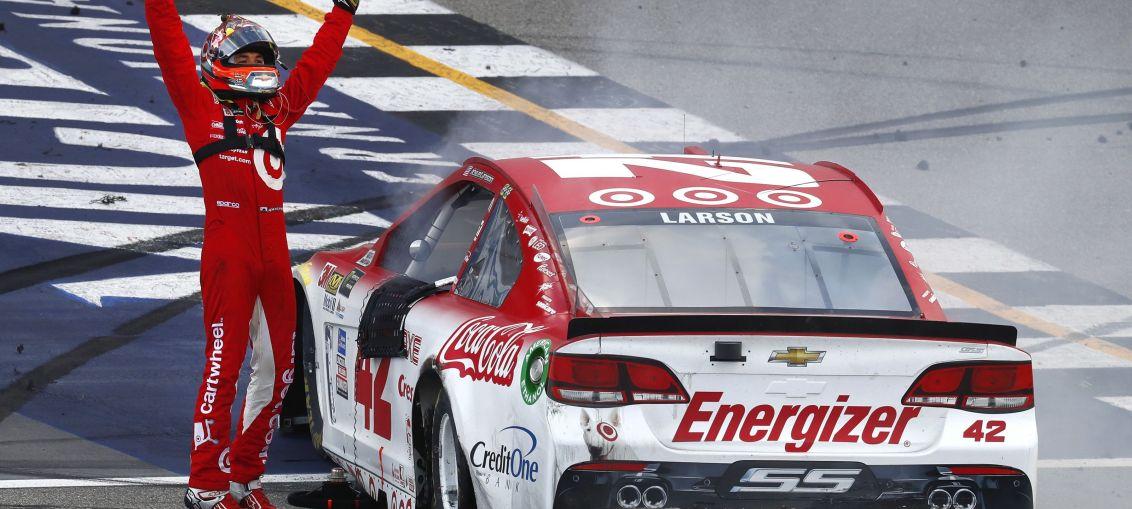 AP NASCAR Michigan Auto Racing
