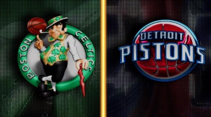 Celtics vs Pistons