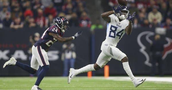 Titans Texans Corey Davis
