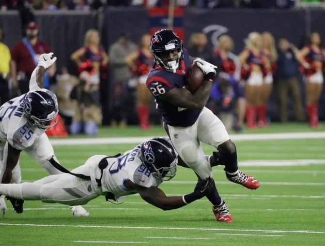 Titans Texans Lamar Miller