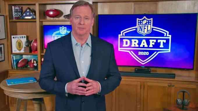 Roger Goodell Nfl Draft 2020