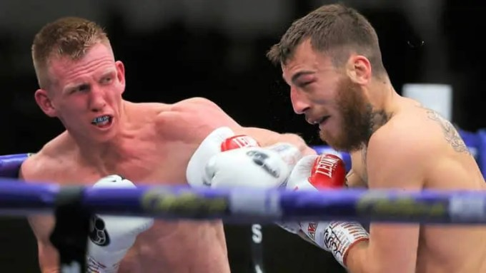 Ted Cheeseman Vs Sam Eggington