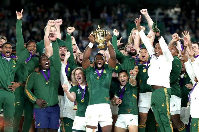 rugby world cup final 2019 siya kolisi