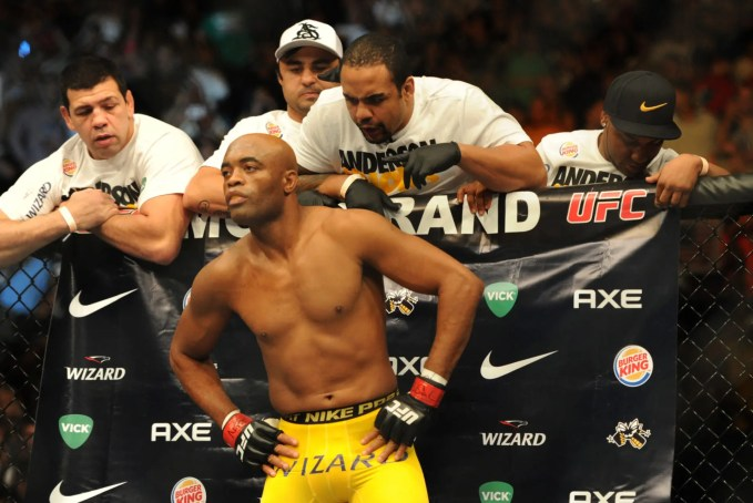 A Look At Anderson Silva The Spider