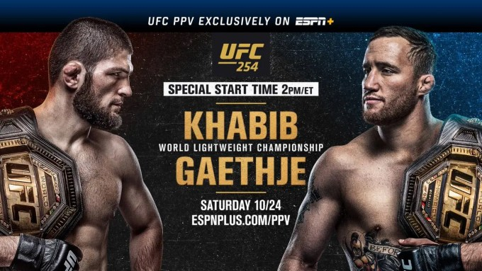 Ufc 254: Khabib Vs Gaethje – Main Card Preview
