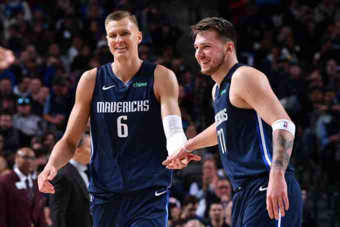 Luka Doncic And Kristaps Porzingis Look To Shatter More Than Expectations With The Dallas Mavericks.