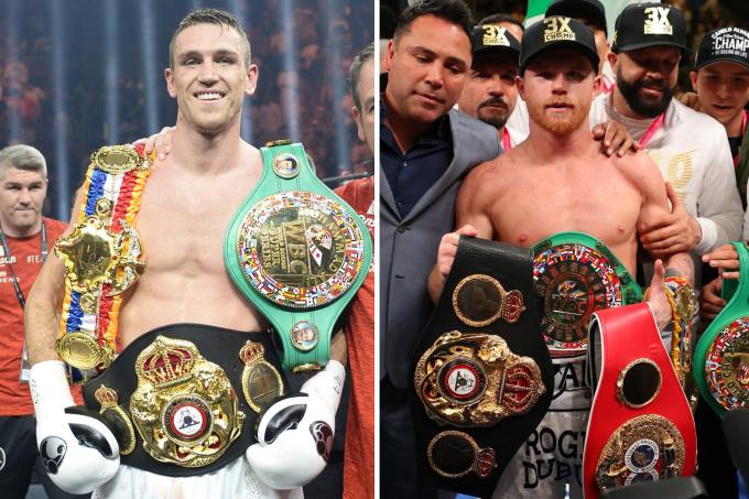 Callum Smith Vs Canelo