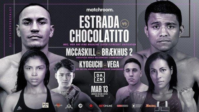 Estrada Vs Chocolatito Undercard