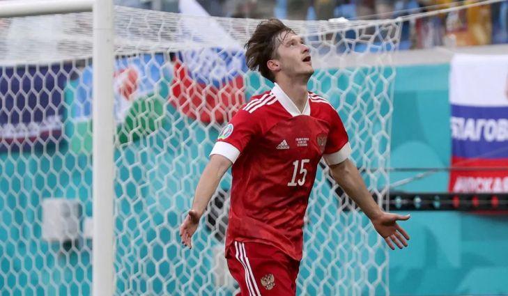 Aleksei Miranchuk Celebrates His Goal Vs Finland
