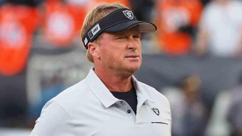 Las Vegas Raiders Coach Jon Gruden Resigns