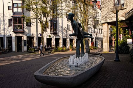 Fountain and Sculpture