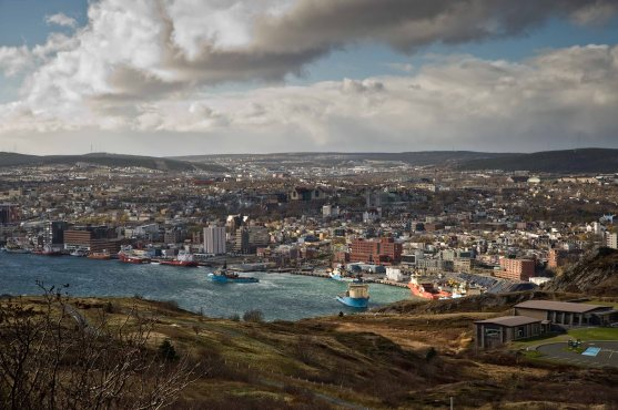 Порт и город St. John's