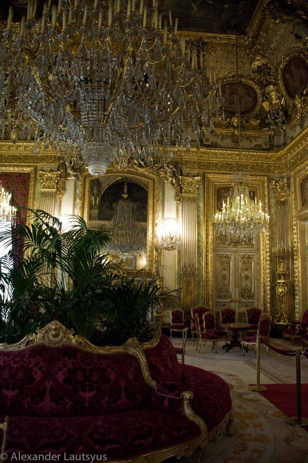 Гостиная в апартаментах Наполеона