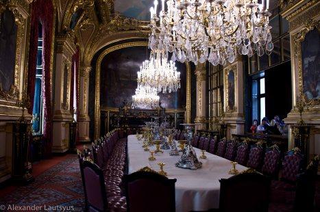 Столовая в апартаментах Наполеона