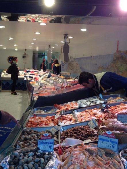 Seafood shop