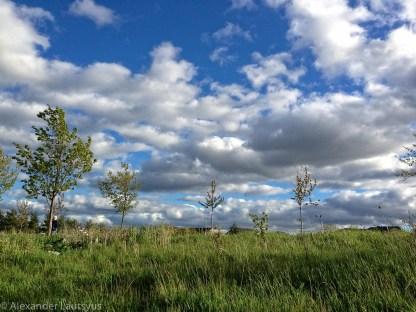 Ветер и небо