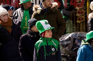 Irish Boy on the Parade