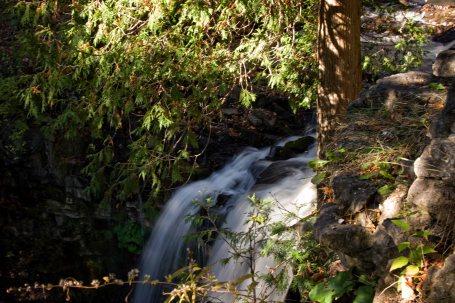 Halton Falls coming down