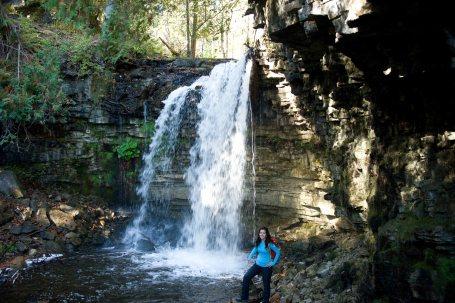 Halton Falls and Tourist