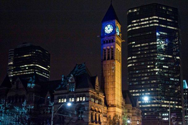 Main Toronto Clock
