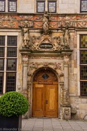 Entrance Door to Trade House, Bremen