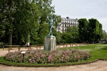 Statue, Greek Actor