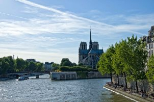 Notre-Dame and Eifel Tower