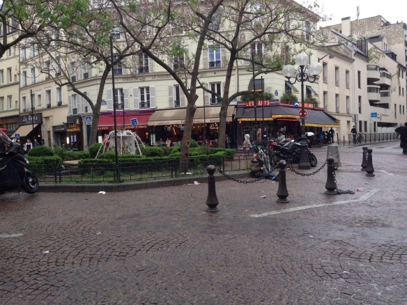 Rue Mouffertad begining