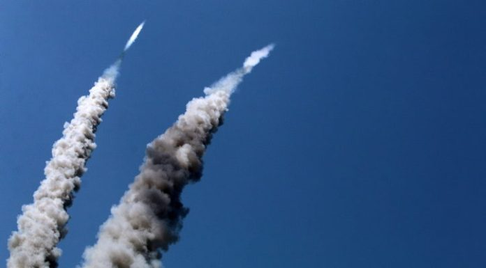 Hamas rockets strike Jerusalem area, anti-tank missile hits civilian vehicle, Gaza envelope erupts