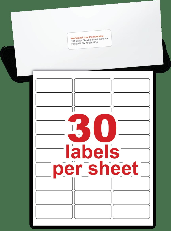 Standard Mailing Label Size : standard, mailing, label, Envelope, Labels