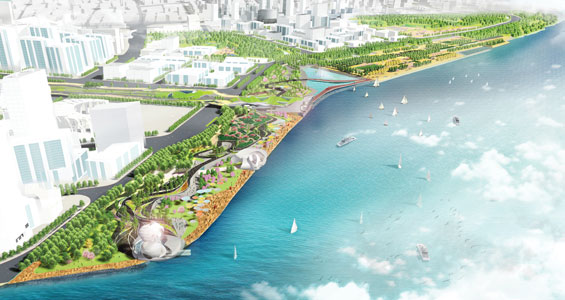 swa wins pudong waterfront design