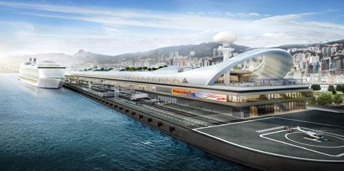 Kai Tak Cruise Terminal Foster+Partners