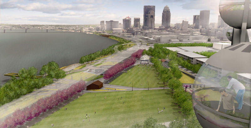 Waterfront Park Phase 4  Louisville USA  MKSK